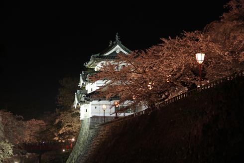 弘前城公園夜景(1)-7