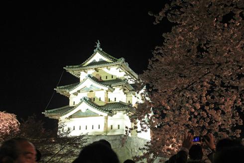 弘前城公園夜景(1)-4