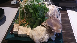 お野菜とキノコたち