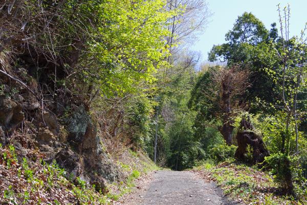 黒谷コース出口