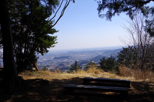 西山高取山頂
