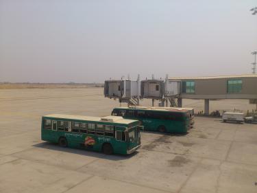 マンダレーの空港1