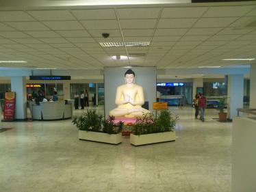 コロンボの空港