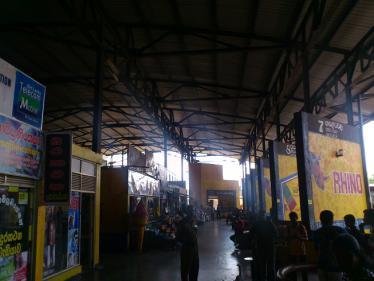ダンブーラのバスターミナル