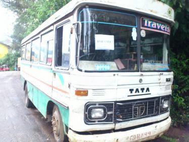 ヌワラエリアで売られてるバス