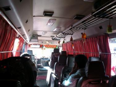 ヌワラエリア 帰りのバス