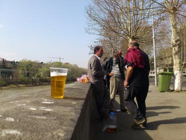 トリビシのビール工場4