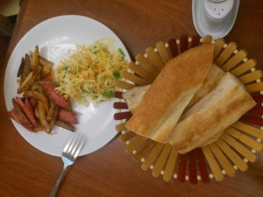 アルメニア最初のご飯