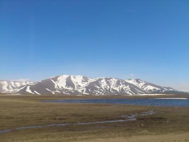 アルメニア国境後の道2
