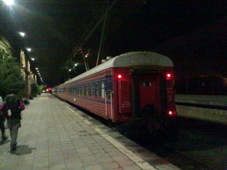 エレバンからの電車