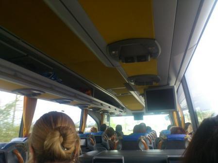 トルコへ向かうバス