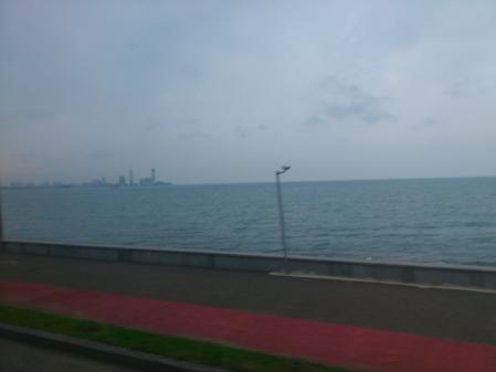 黒海が見えてきた