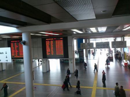アンカラのターミナル