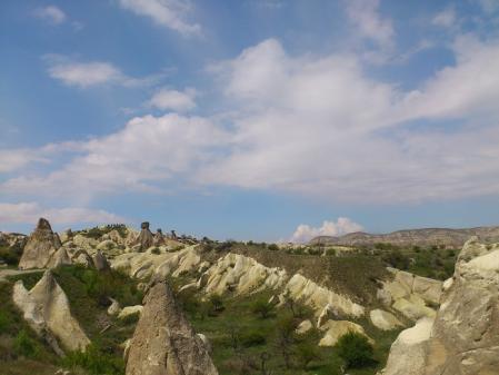 カッパドキアの奇石1