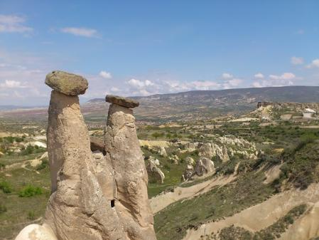 カッパドキアの奇石2