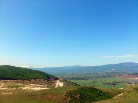 アルバニアの風景
