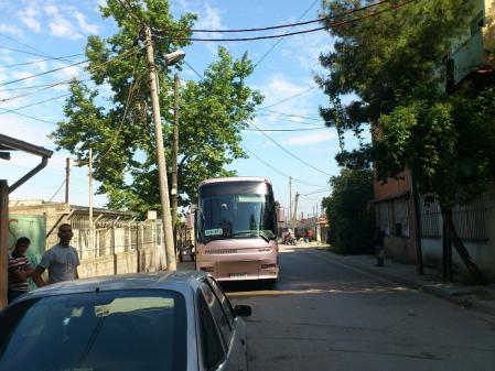 シュコドラ行きのバス