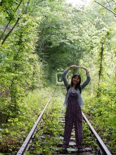 愛のトンネルへ