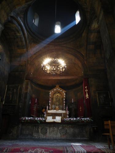 ボルビラップの教会内部