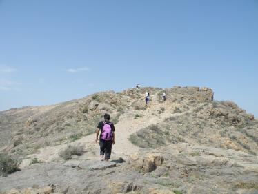 ボルビラップ 山登り
