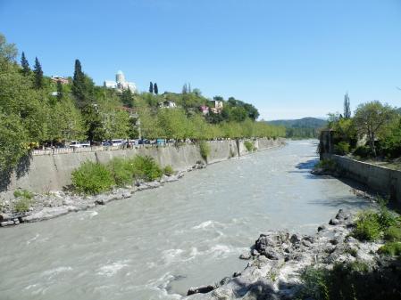 クタイシの川1
