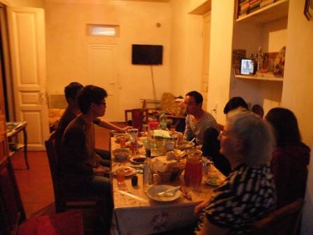 スリコメディコの夕食
