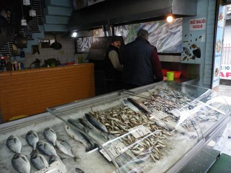 トラブゾンの魚屋