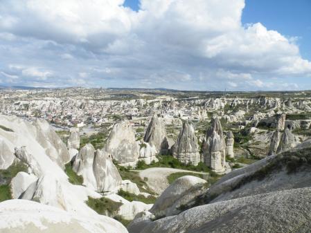 カッパドキアの奇石群2