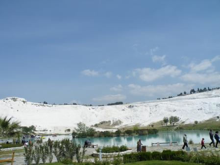 パムッカレ 湖
