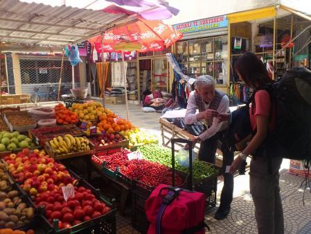 シュコドラの果物屋