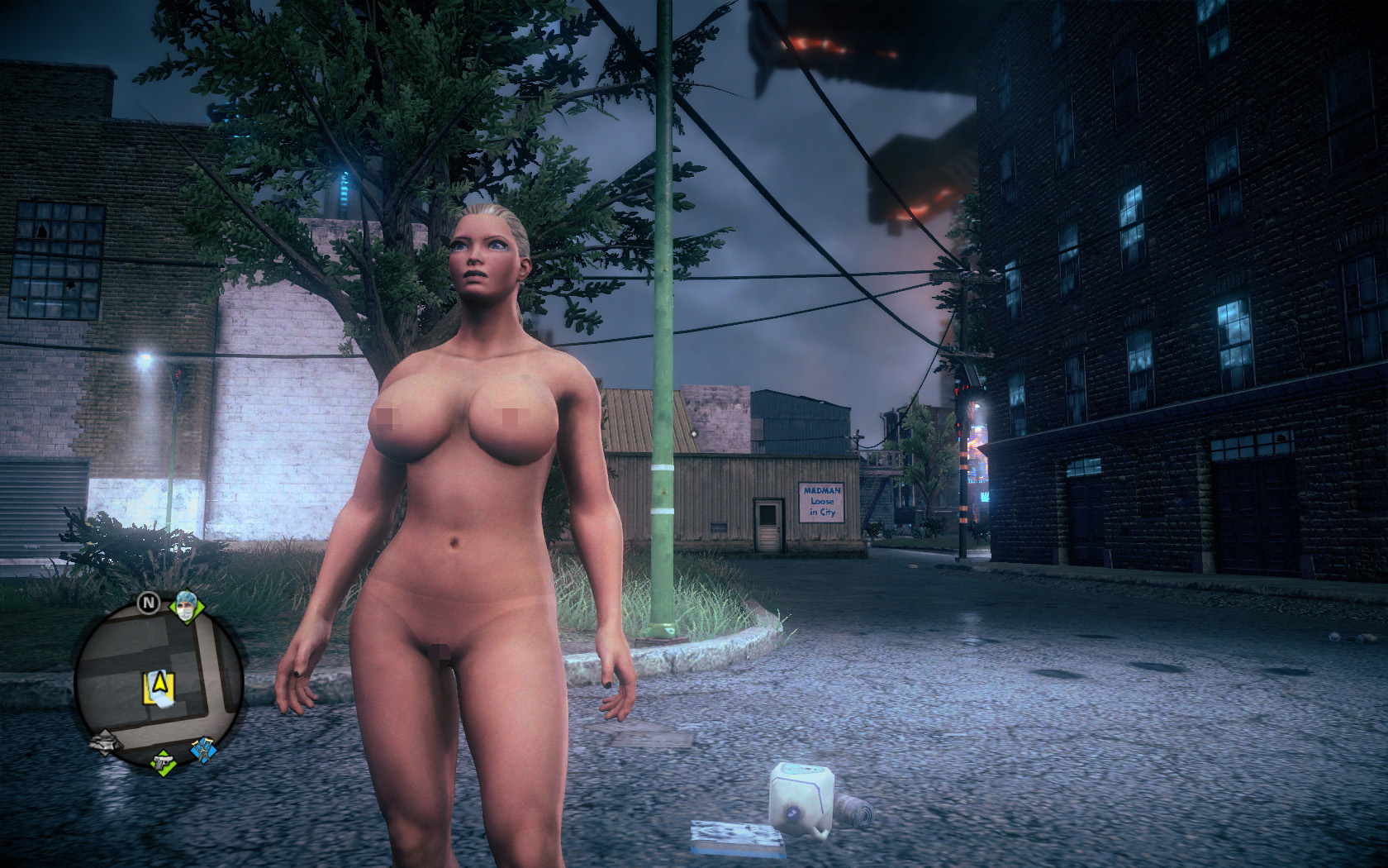 Hot naked saints row 4 sexy toons