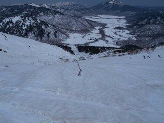 s11ムジナ沢滑降3