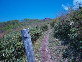 s04稜線に出る