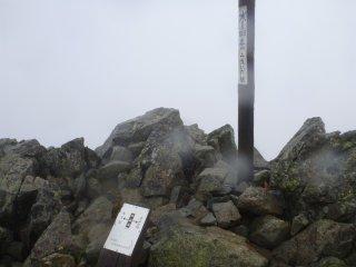 s05水晶岳山頂1