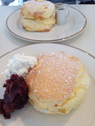 sボールパークのパンケーキ