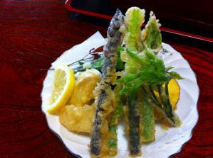 登貴三郎 野菜天ぷら