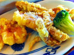 麺房 げそ天ぷら皿もり