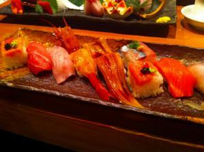 橋本屋 お寿司盛り合わせ2