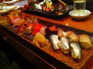 橋本屋 お寿司盛り合わせ1