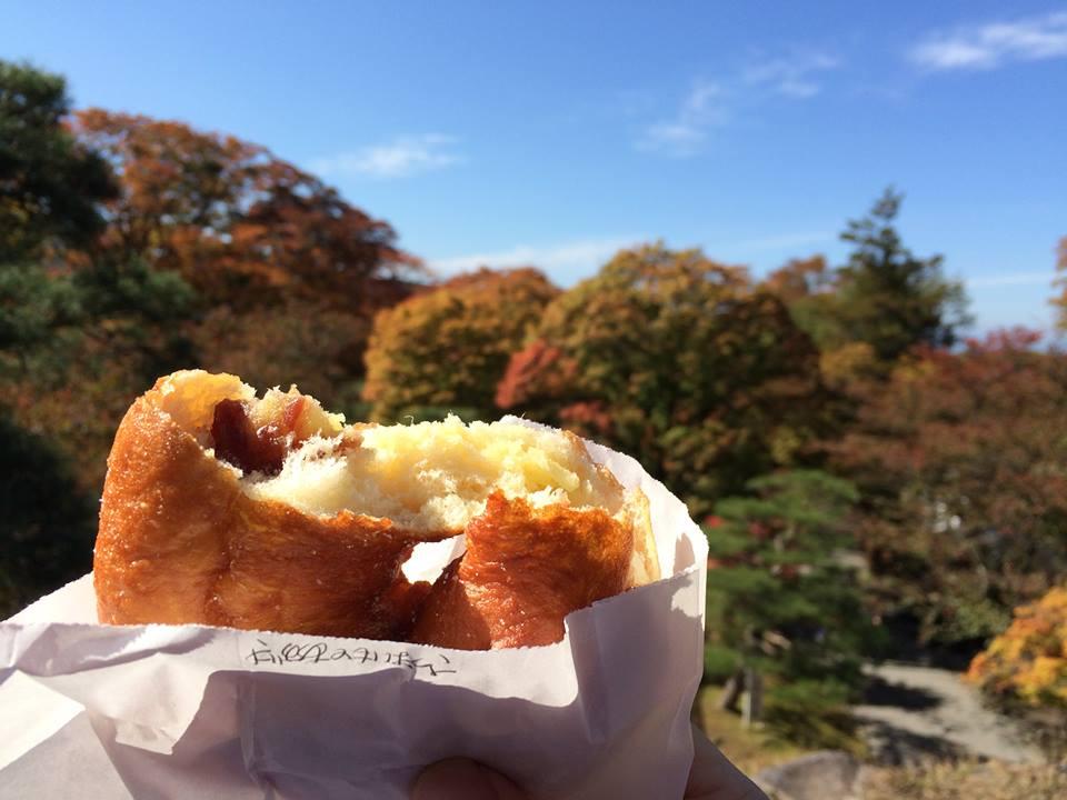 【東信州紅葉狩り】に『さつまいもとあずきドーナツ』
