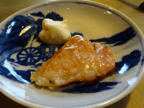 八郷のポーク塩麹風味炭焼きグリルとマッシュドポテト