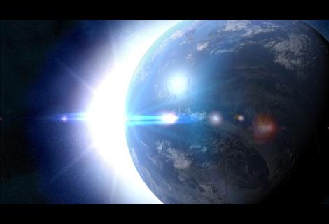 地球と光l
