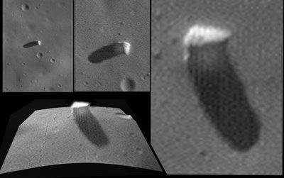 火星の何か補足Phobos monolith