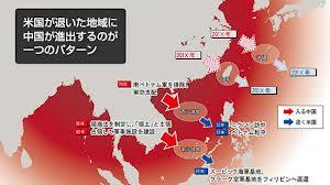 中国の進出図index