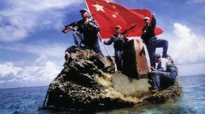 スプラトリーの中国china