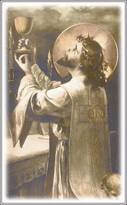 イエズスと葡萄酒eucharist