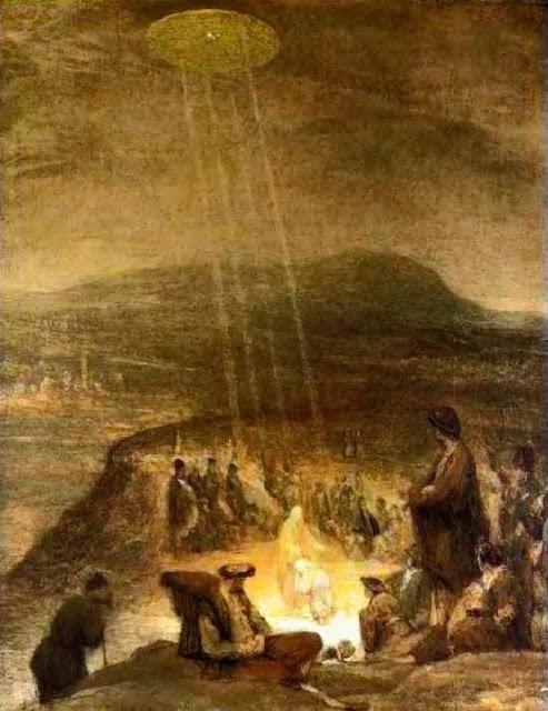 1710年イエスの洗礼art
