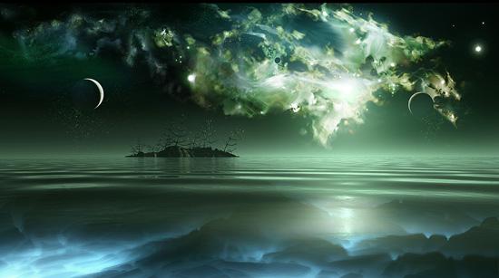 海と星のimage