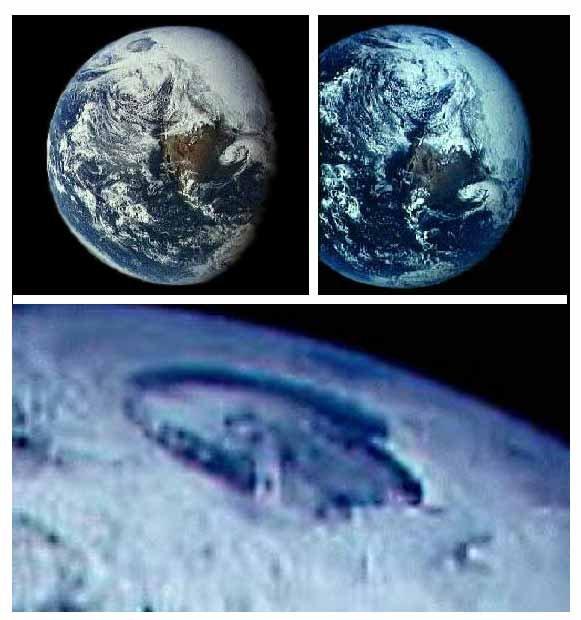 地球の妙な写真image