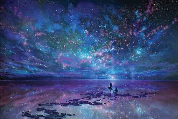 夜の星々とimage